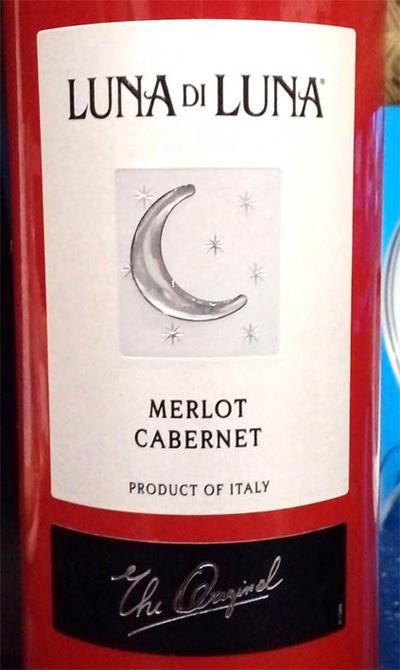Отзыв о вине Luna di Luna merlot cabernet 2015