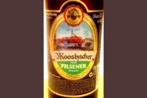 Отзыв о пиве Moosbacher pilsener