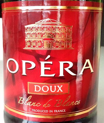 Отзыв об игристом вине Opera doux blanc de blanc 2014