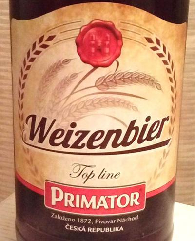 Отзыв о пиве Primator Weizenbier