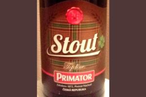 Отзыв о пиве Primator stout top line