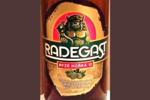Отзыв о пиве Radegast ryze horka 12
