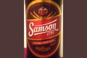 Отзыв о пиве: Samson dark