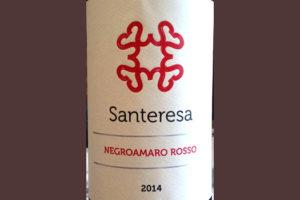 Отзыв о вине Santeresa negroamaro rosso 2014