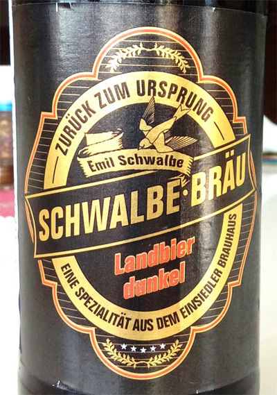 Отзыв о пиве: Schwalbe-brau landbier dunkel