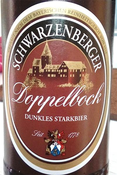 Отзыв о пиве Schwarzenberger Doppelbock dunkles starkbier