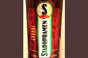 Отзыв о пиве Staropramen granat
