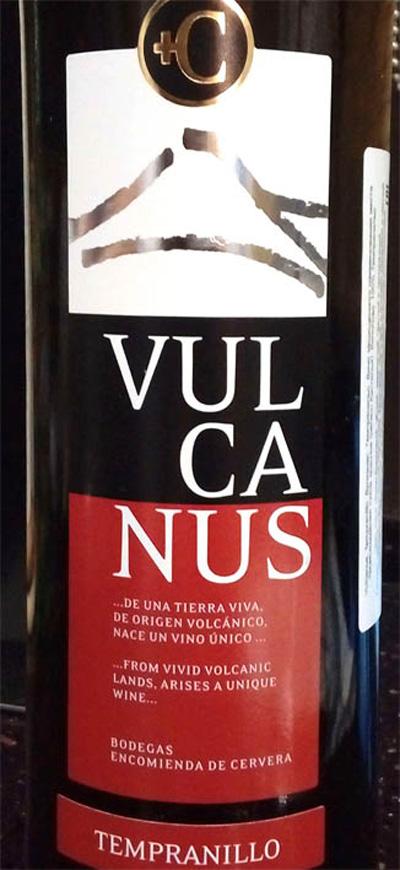 Отзыв о вине Vulcanus tempranillo 2013