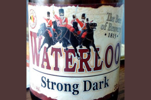 Отзыв о пиве Waterloo strong dark