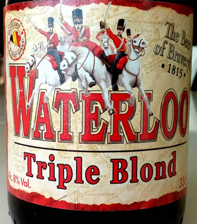 Отзыв о пиве: Waterloo triple blond