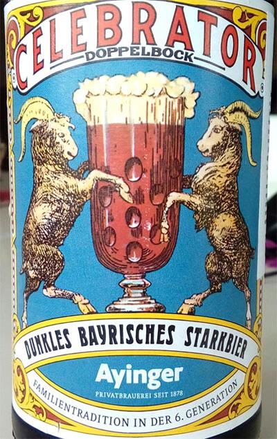 Отзыв о пиве Ayinger Celebrator doppelbock