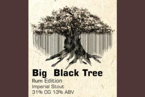 Отзыв о пиве Big Black Tree крафтовое