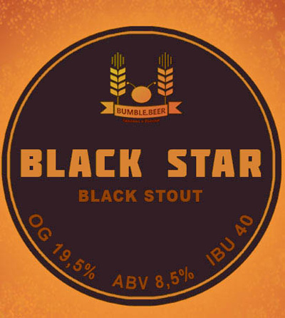 Отзыв о пиве Black Star stout крафт
