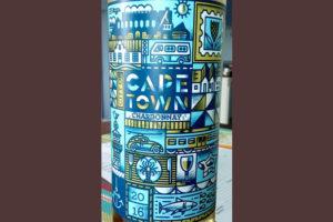 Отзыв о вине Cape Town chardonnay 2016