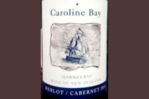 Отзыв о вине Caroline Bay merlot cabernet 2014