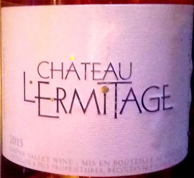 Отзыв о вине Chateau L'Ermitage Cuvee tradition rose 2015