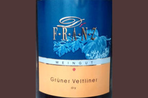 Отзыв о вине Dr Franz gruner veltlinger dry 2013