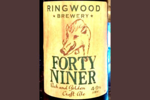 Отзыв о пиве Forty Niner craft ale