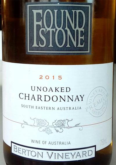Отзыв о вине Found Stone unoaked chardonnay 2015