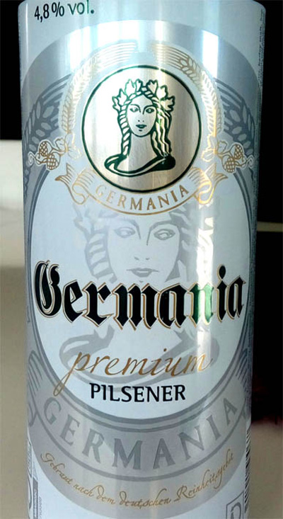 Отзыв о пиве Germania premium pilsner