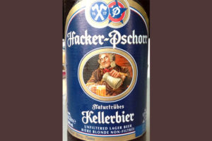 Отзыв о пиве Hacker-Pschorr Kellerbier