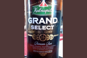 Отзыв о пиве Kalnapills Grand Select premium beer