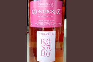 Отзыв о вине Montecruz tempranillo rosado valdepenas 2015