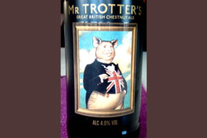 Отзыв о пиве Mr Trotter's great british chestnut ale