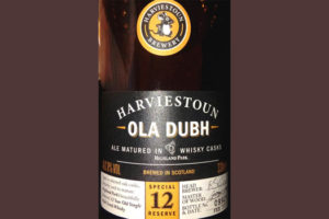Отзыв о пиве Ola Dubh 12 Harviestoun