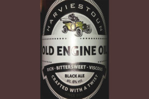 Отзыв о пиве Old Engine Oil