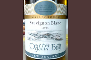 Отзыв о вине Oyster Bay sauvignon blanc 2016
