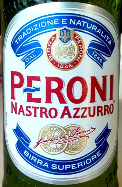 Отзыв о пиве Peroni nastro azzurro birra superiore