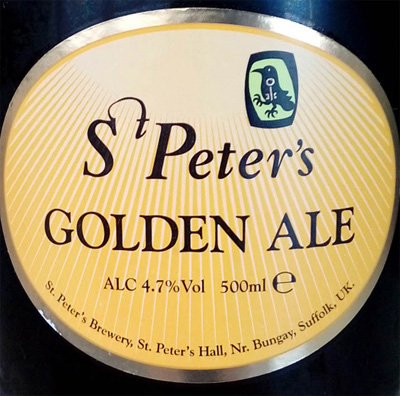 Отзыв о пиве St. Peter's Golden Ale