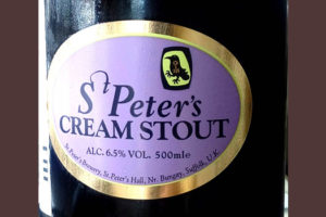 Отзыв о пиве St. Peter's cream stout