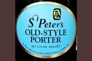 Отзыв о пиве St. Peter's old-style porter