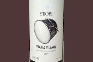 Отзыв о вине Stobi Vranec Vilarov 2015