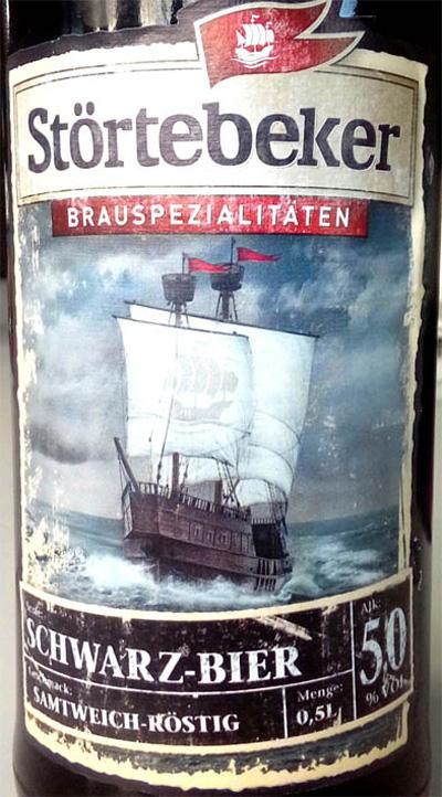 Отзыв о пиве Stortebeker schwarz-bier