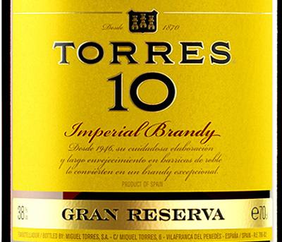 Отзыв о бренди Torres 10 gran reserva Imperial brandy 0,7 л