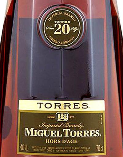 Отзыв о бренди Torres 20 Hors d'Age Imperial brandy 0,7 л