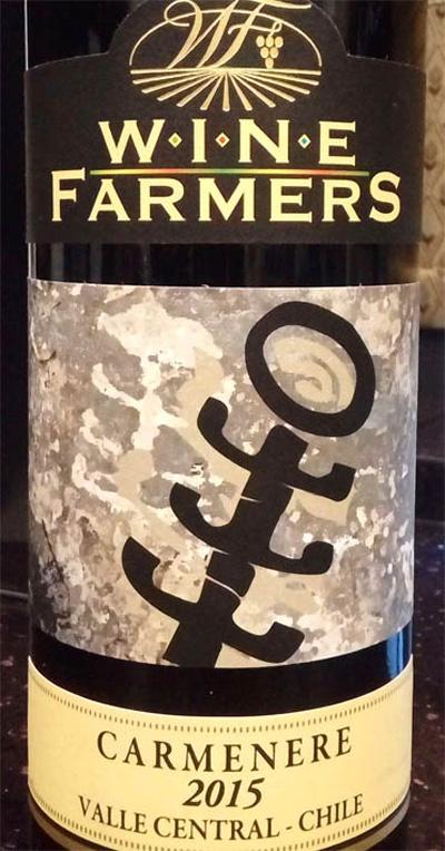 Отзыв о вине Wine Farmers carmenere 2015
