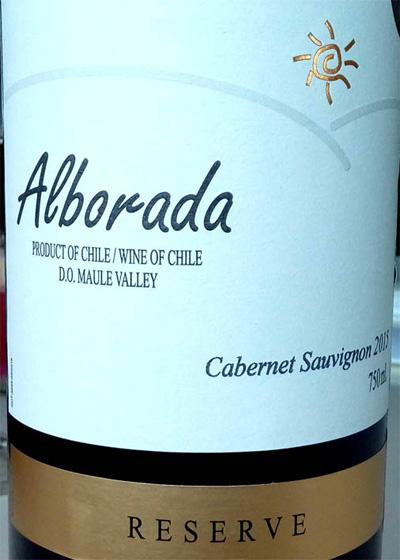 Отзыв о вине Alborada cabernet sauvignon reserve 2015
