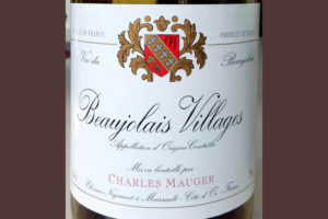 Отзыв о вине Beaujolais Villages Charles Mauger 2015