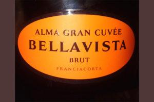 Отзыв об игристом вине Bellavista brut Alma gran cuvee 2013