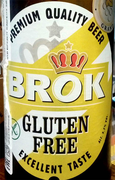 Отзыв о пиве Brok gluten free