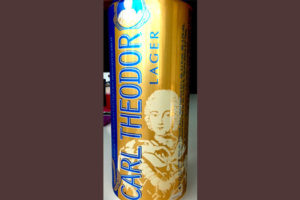 Отзыв о пиве Carl Theodor lager