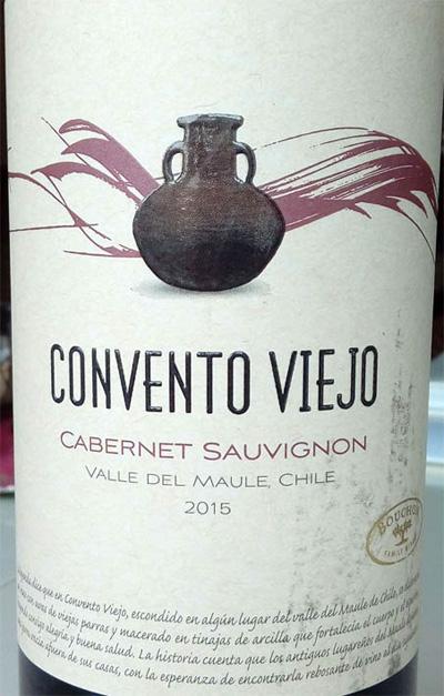 Отзыв о вине Convento Viejo cabernet sauvignon 2015
