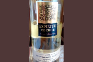 Отзыв о вине Espritu de Chile Sauvignon Blanc Gran Reserva 2015