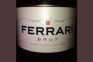 Отзыв об игристом вине Ferrari brut bianco 2014