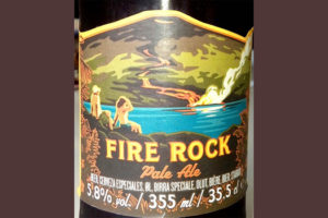 Отзыв о пиве Fire Rock pale ale