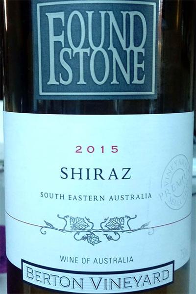 Отзыв о вине Found Stone shiraz 2015 berton vineyard